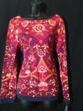 New!! CHARTER CLUB Sz L Red Casual Pullover Top Women's Shirt Top Blouse Ret.$49