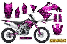 KAWASAKI KXF450 KX450F 09-11 GRAPHICS KIT CREATORX DECALS INFERNO P