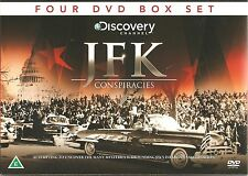 JFK CONSPIRACIES 4 DVD GIFT BOX SET Assassination John F. Kennedy in 22 11 63