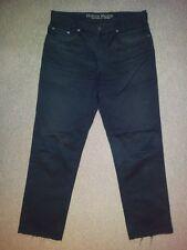 Joker Harlem Walker Jeans Hose Schwarz Unifarben W34 L30