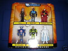 JUSTICE LEAGUE  *MUTINY IN THE RANKS* 6 FIGURES SET