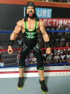 WWE Wrestling Mattel Elite USED Series 33 X-Pac Figure Lower Leg Swap