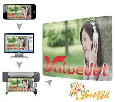 """Toile Imprimé A0 46""""x32"""" Grand personnalisé votre photo/photo cadre 18 mm, 280gsm"""