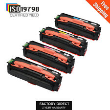 4 CLT-K504S Compatibe Color Toner Cartridges for Samsung SL-C1810W SL-C1860FW