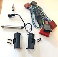 Radio Blende Aktivsystem Autoradio Kabel Adapter ISO für Audi A4 Antennenadapter