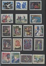 1961-1969  Oeuvres d'Art neufs sauf 1426 & 1458 obl., 1588A *  (06-015.17)
