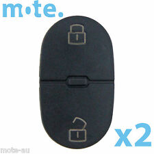 2 x Audi A2 A3 A4 A6 2 Button Key Replacement Remote Shell/Case/Enclosure