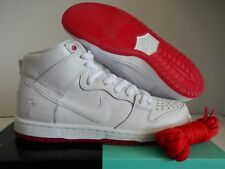 Nike SB Zoom Dunk High Pro QS Kevin Bradley White/red Size 13 Ah9613 116