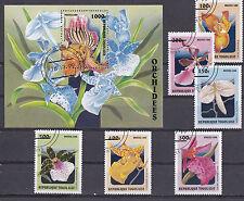 Togolaise 1999 - Set + Block - Bloemen/Flowers/Blüte (Orchids)