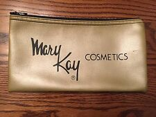 VINTAGE COLLECTIBLE ZIPPERED MARY KAY COSMETICS BANK BAG MONEY COIN DEPOSIT