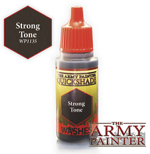 The Army Painter WP1135 Arcylic Strong Tone Ink Wash 18ml Plastic Bottle
