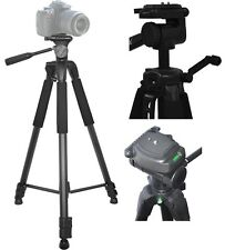 "75"" Heavy Duty Tripod With Case For Canon Vixia HF R72 R700 R70 R600 R62 R60 G40"