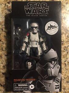 "Star Wars 6"" Black Series Galaxy's Edge Mountain Trooper Target Exclusive"