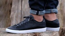 Nike All Court 2 Low Lux 'Pony Hair' 875789-001 Black Leather UK 8 EU 42.5 US 9