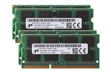 32GB Micron 4X 8GB 2RX8 DDR3L 1600MHz PC3L-12800S 1.35V SODIMM Laptop Memory RAM