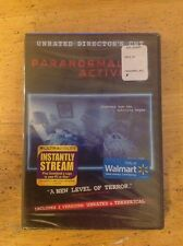 Paranormal activity 3 (DVD,Unrated directors cut) NEW Authentic US RELEASE