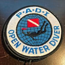 PADI Open Water Diver Embroidered Patch Scuba Diving