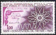 France 1975 Métrique/Mètre/mesure/Règle/Atomic symboles 1 V (n30969)