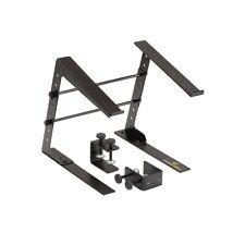 SLAP-130 Supporto laptop Portatile Stand per DJ, Regolabile Tavolo DeeJay Mac Pc