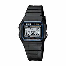 Mens Casio Sports Waterproof Casual Retro 1980's Digital Resin Watch F91W-1YEF