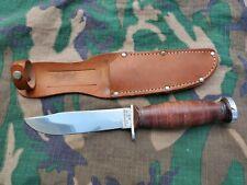 Vietnam War Usmc Army Schrade Walden H-15 Private Purchase Fighting knife