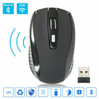 2.4GHz Wireless Optical Mouse Adjustable DPI Cordless Mice + Receiver for  OCS