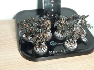 Chaos Space Marines Black Legion Lord w/ jump pack and 5 Warp Talons pro painted