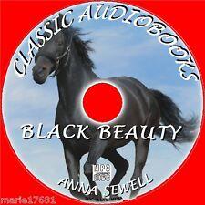 BLACK BEAUTY Clásico Novedosa MP3 CD Audiolibro Anna Sewell INFANTIL BEST Venta