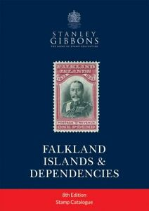 Falklands Stamp Catalogue  NEW 8th Edition - Stanley Gibbons