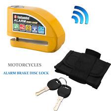 Universal Motorcycle Bicycle Red Anti-theft Disc Brake Lock Security Alarm