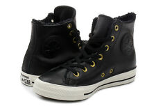 NWB Converse Chuck Taylor LEATHER All Star High Top. 557925C. Black. MSPR $70.00