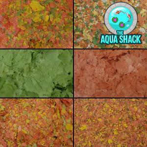 Goldfish Coldwater Flakes Fish Food - Colour Enhancing Energy Shrimp Spirulina