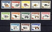GIBRALTAR ~ 1987 - GUNS & ARTILLERY ISSUE ~ #508 - 520 ~ MNH