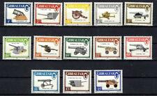 GIBRALTAR ~ 1987 - GUNS & ARTILLERY ISSUE ~ #508 - 520 ~ MNH