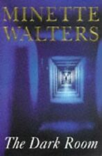 Minette Walters~THE DARK ROOM~SIGNED 1ST/DJ~NICE COPY