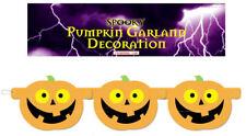 Halloween Pumpkin Garland - 1.5m - Decoration Banner Bunting Party