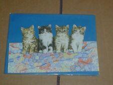 Lovely Kitten Group Blank Card