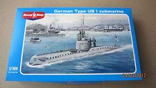German Type UB I Submarine  1/144  Mikro Mir  #  144-016