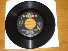 """SOUL / R&B 45 RPM - MITTY COLLIER - CHESS 1907 - """"I HAD A TALK WITH MY MAN"""""""