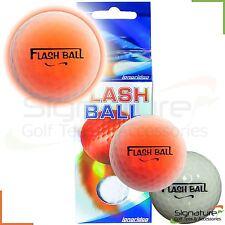 Longridge Flash Ball Visi Tracer Flashing Twilight Golf Balls 2 Pack