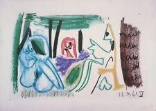 Pablo Picasso – Les Déjeuners, Original Lithograph – 1962