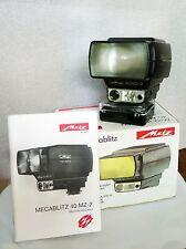 Flash  METZ Mecablitz 40 MZ 2 con SCA 380 per Contax + Yashica e altre marche