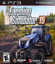 PLAYSTATION 3 FARMING SIMULATOR 15 LIMITED EDITION BONUS DLC VIDEO GAME