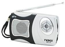 BRAND NEW Naxa NR-712 AM/FM Mini Pocket Radio with Built-in Speaker - Black