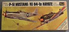 Revell H-222 Fighting Deuces Mustang Hayate Plastic Model Kit #2 1/72 Scale 1969