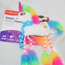 Smarty Kat Dazzle Dancer Catnip Crinkle Toy Rainbow Unicorn