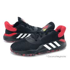 Adidas Louisville Cardinals Pro Bounce 2019 Low Basketball Shoes G26182 Size 9