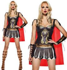 AU Halloween Women Rome Gladiator Victorious Warrior Goddess Fancy Dress Costume