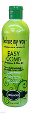 Texture My Way Easy Comb Leave in Detangling & Softening Creme Therapy 12oz