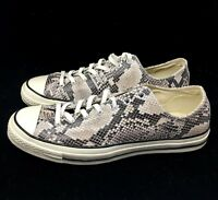 Converse Chuck Taylor All Star CTAS 70 Ox Snakeskin Black Gray 158857C NEW